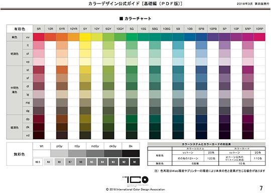 カラーデザイン公式ガイド